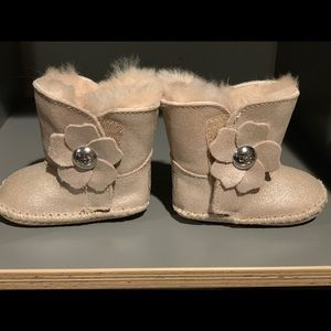 Ugg Infant Cassie Poppy Boot Size 0-1 (0-6 mo)